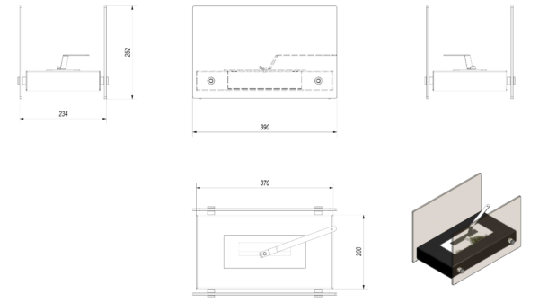 Holbrook Mini Tech Drawing