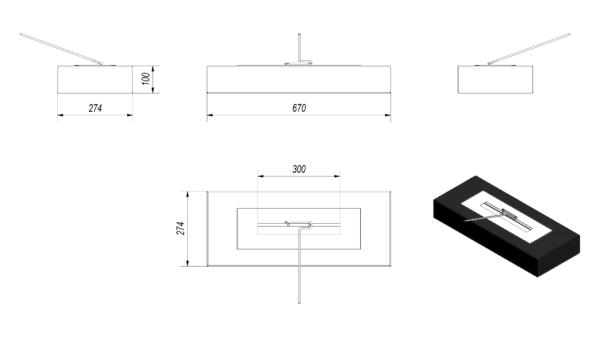 Vial Maximum Tech Drawing